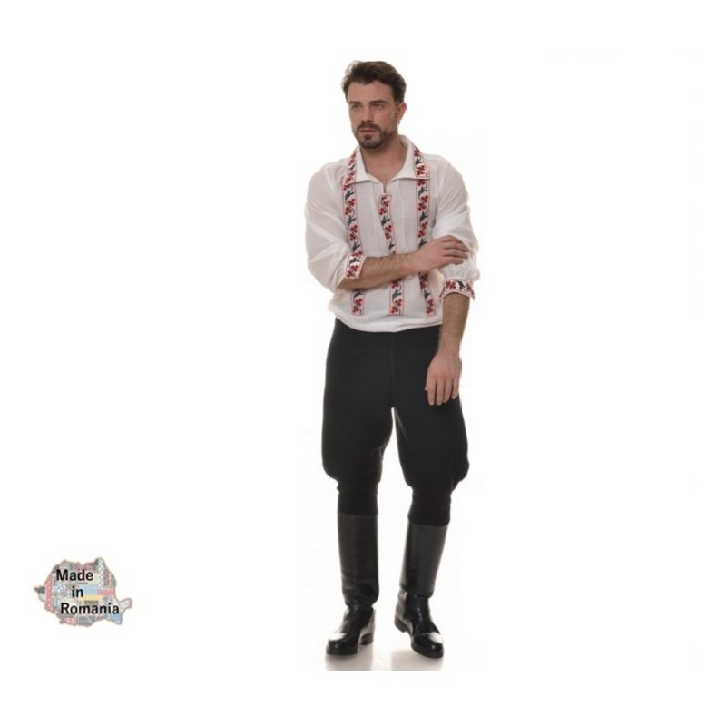 TRADITIONAL ROMANIAN men's long sleeve IE - DACART